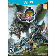 Monster Hunter 3 Ultimate For Wii U With Manual And Case - EE677011