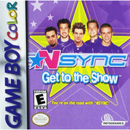 N*sync: Get To The Show On Gameboy Color Music - EE677436