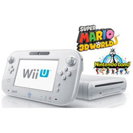 Wii U Deluxe Set 32GB Black With Super Mario 3D World And Nintendo - ZZ677484