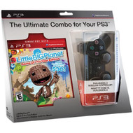 Littlebigplanet Game Of The Year Edition And Black Dualshock 3 - ZZ677871