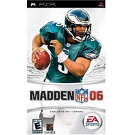 Madden NFL 2006 Sony For PSP UMD Football With Manual And Case - EE677898