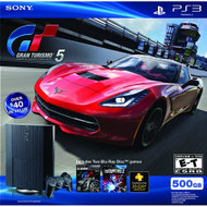 Sony PlayStation PS3 500 GB Gran Turismo 5 Legacy Bundle - ZZ678000