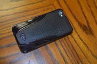 iSkin Solo Vu Case For iPhone 4 Merlot Red - EE670210