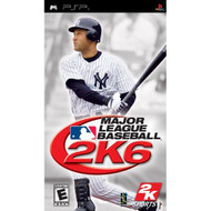 Major League Baseball 2K6 Sony For PSP UMD With Manual And Case - EE678728