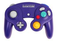 Nintendo OEM GameCube Controller Indigo Purple - ZZ679079