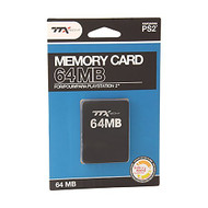 Ttxtech 64MB Memory Card For Sony For PlayStation 2 PS2 Expansion - EE679338