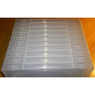 10 Official Sony PS3 PlayStation 3 Clear Replacement Game Cases OEM - ZZ679475
