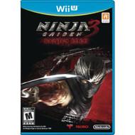 Ninja Gaiden 3: Razor's Edge For Wii U With Manual And Case - EE680384