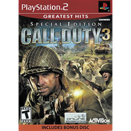 Call Of Duty 3 Special Edition For PlayStation 2 PS2 COD Shooter - EE681919