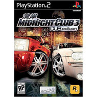 Midnight Club 3 Dub Edition For PlayStation 2 PS2 Racing With Manual - EE681669