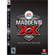Madden NFL 09 20th Anniversary Collectors Edition For PlayStation 3 PS - EE682306