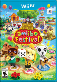 Animal Crossing: Amiibo Festival For Wii U Board Games With Manual And - EE684084