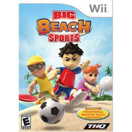 Big Beach Sports For Wii With Manual And Case - EE684572