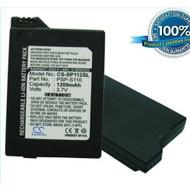 1200MAH PSP-S110 Battery Sony PlayStation Silm PSP-3000 PSP-3004 By - ZZ685091