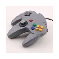 Long Game Handle Controller For Nintendo 64 Grey - ZZ685092