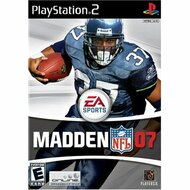 Madden NFL 07 For PlayStation 2 PS2 Football - EE685232