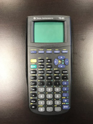 Texas Instruments TI-83 Graphing Calculator - EE685359