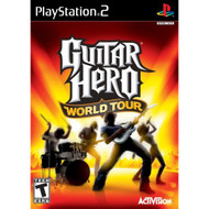 Guitar Hero World Tour Game Only For PlayStation 2 PS2 Music With - EE685805