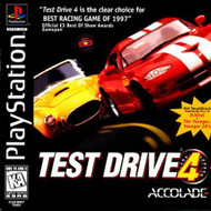Test Drive 4 For PlayStation 1 PS1 Racing With Manual And Case - EE685892