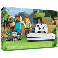 Xbox One S 500GB Console Minecraft Bundle - ZZ687775