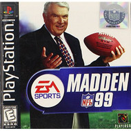 Madden NFL 99 For PlayStation 1 PS1 Football With Manual and Case - EE689442