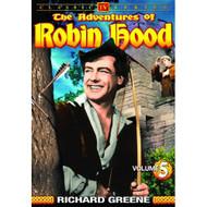 Adventures Of Robin Hood Volume 5 On DVD With Richard Greene - EE690444