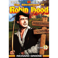 The Adventures Of Robin Hood Vol 10 On DVD With Richard Greene - EE690452