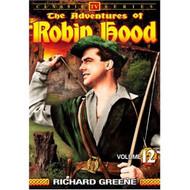 The Adventures Of Robin Hood Vol 12 On DVD With Richard Greene - EE690454