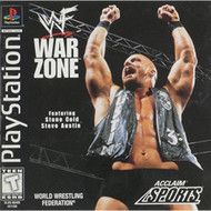 WWF Warzone For PlayStation 1 PS1 Wrestling - EE691302