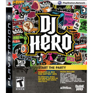 DJ Hero: Start The Party Stand Alone Software For PlayStation 3 PS3 - EE678353