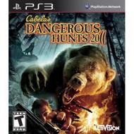 Cabela's Dangerous Hunts 2011 For PlayStation 3 PS3 Shooter - EE692038