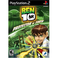 Ben 10 Protector Of Earth For PlayStation 2 PS2 With Manual and Case - EE692670