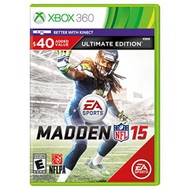 Madden NFL 15 Ultimate Edition For Xbox 360 Football - EE694214