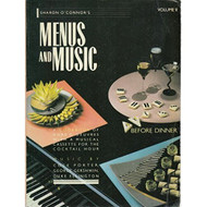 002: Sharon O'connor's Menus And Music Before Dinner: A Cookbook Of - EE694529