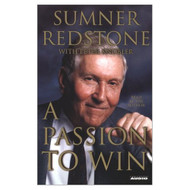A Passion To Win By Redstone Sumner Knobler Peter Contributor On Audio - EE694555
