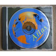 World Vista Atlas CD-Rom Copyright 1992 Software - EE694847