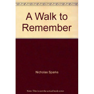 A Walk To Remember By Nicholas Sparks On Audio Cassette - EE695557