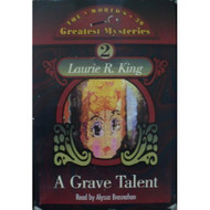 A Grave Talent Kate Martinelli Series 1 By Laurie R King Alyssa - EE695835