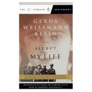 All But My Life Fsg Audio By Gerda Weissman Klein Barbara Rosenblatt - EE695949