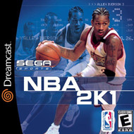 NBA 2K1 Sega Dreamcast For Sega Dreamcast Basketball With Manual and - EE696346