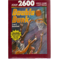 2600: Double DUNK--2-ON-2 Basketball Video Game Cartridge For Atari - EE696736