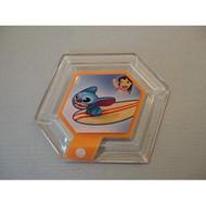 Disney Infinity Series 2 Power Disc Hangin' Ten Stitch With Surfboard  - EE697373