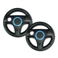 Mario Kart Racing Wheel 2 Piece Black For Wii - EE697573