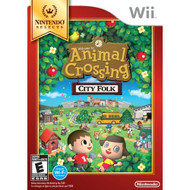 Animal Crossing: City Folk Nintendo Selects For Wii With Manual and - EE698152