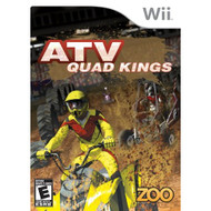 ATV Quad Kings For Wii Racing With Manual and Case - EE698181