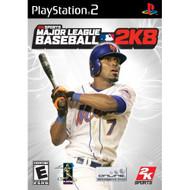 Major League Baseball 2K8 For PlayStation 2 PS2 - EE698461