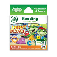 Leapfrog Letter Factory Learning Game Works With LeapPad Tablets And - EE698547
