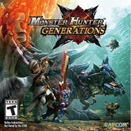 Monster Hunter Generations Nintendo Standard Edition For 3DS RPG - EE699429