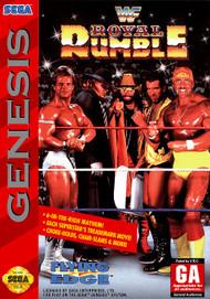 WWF Royal Rumble For Sega Genesis Vintage Wrestling With Manual And - EE699660