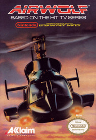 Airwolf For Nintendo NES Vintage Flight - EE699906
